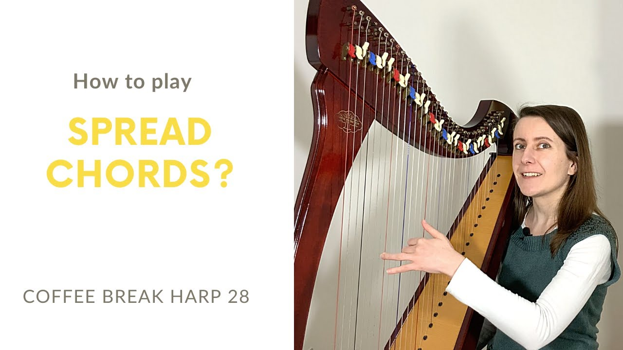 How to play rolled chords on the harp Coffee Break Harp 15