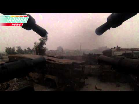 "ᴴᴰ ZSU-23-4 Shilka GoPro Footage.** ** ""Anti Aircraft Positions Against Terrorists"""