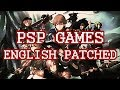PPSSPP/PSP GAMES ENGLISH PATCHED