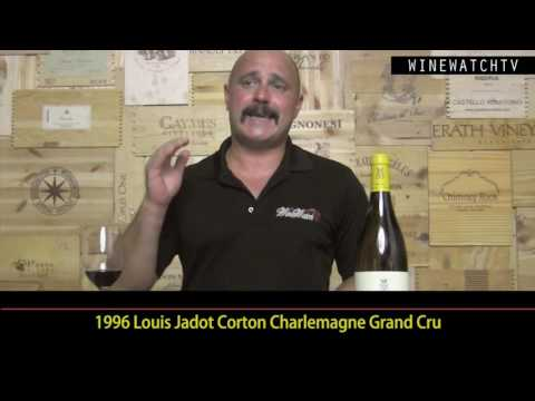 What I Drank Yesterday  Corton Charlemagne - click image for video
