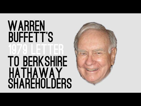 Warren Buffett's 1979 Letter to Berkshire Shareholders - Animated