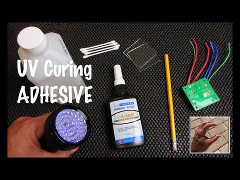 UV Curing Adhesive (Bonds Glass/Metal/Plastics/Crystal)