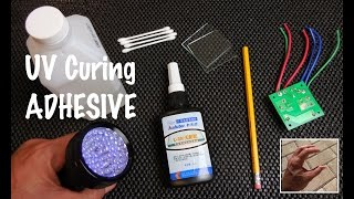 UV Curing Adhesive (Bonds Glass/Metal/Plastics/Crystal)