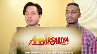 Ambarsariya | Punjabi Movie Trailer Reaction and Review With English subs | Stageflix
