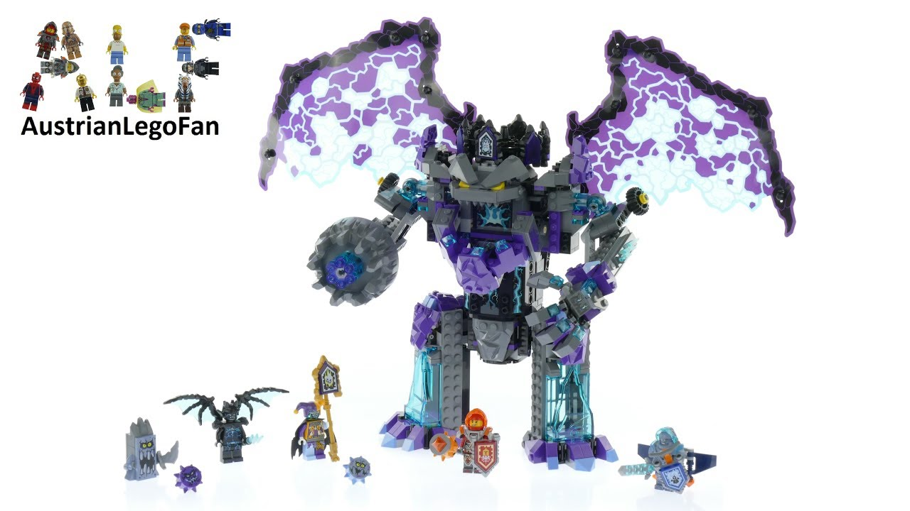 Lego Nexo Knights 70356 The Stone Colossus Of Ultimate