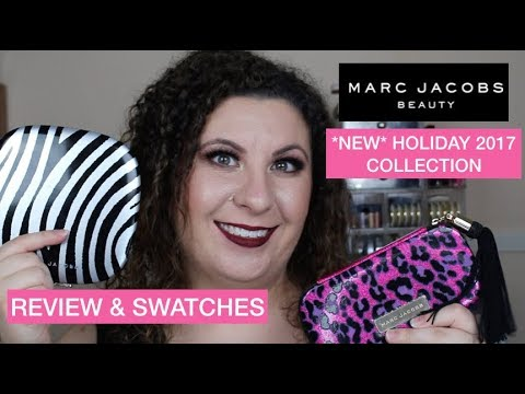 *NEW* MARC JACOBS HOLIDAY 2017 COLLECTION | REVIEW & SWATCHES | Breakups2Makeup