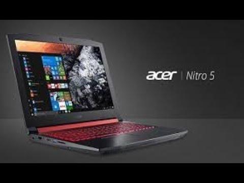 Лучший игровой ноутбук Acer Nitro 5 I7/2ТБ/ Gtx 1060/16 озу/ 256SSD.