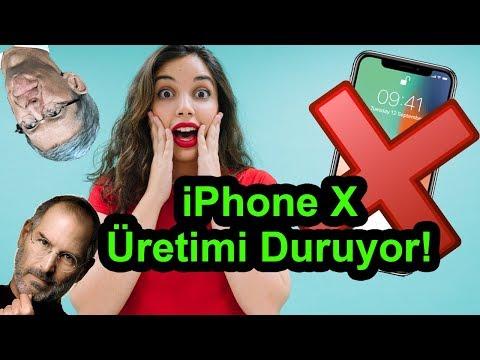 iPhone X Üretimi Durduruluyor! - Apple Bu Sefer Fena Tosladı!