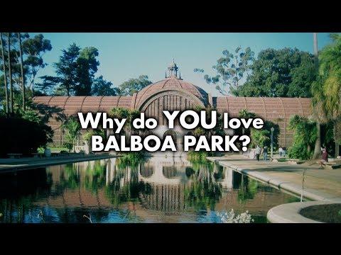 I Love Balboa Park