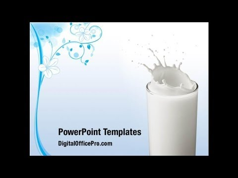 Glass of milk powerpoint template backgrounds digitalofficepro glass of milk powerpoint template backgrounds digitalofficepro 03357 toneelgroepblik Gallery