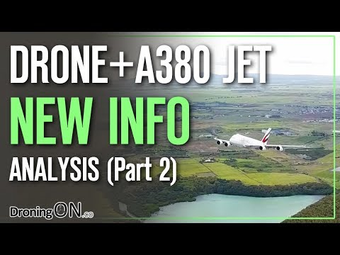 DroningON | Emirates Airbus A380 Jet + Drone UPDATE (Part 2)