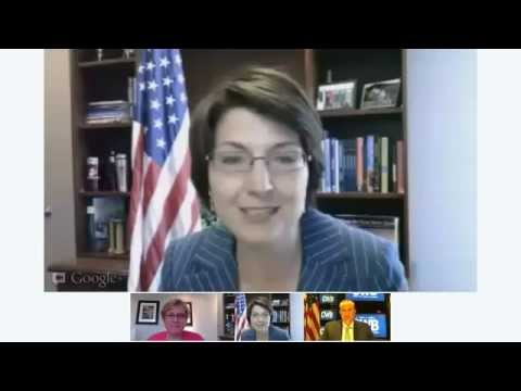 Center for Women in Business Google+ Hangout with Rep. Cathy McMorris Rodgers (R-WA)