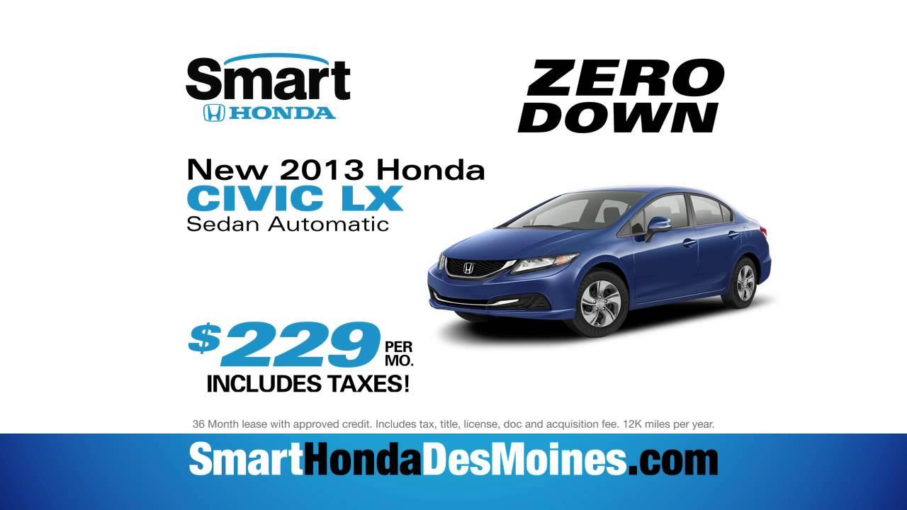 Good Smart Honda In Des Moines, IA