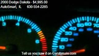2000 Dodge Dakota Club Cab 4WD - for sale in Oswego, IL 6054