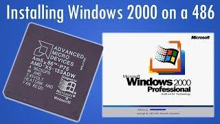Installing Windows 2000 on a 486