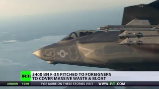 Pentagon Pain: F-35 stealth fighter jet
