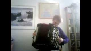 Serbian National Anthem on Accordion (Short Version)