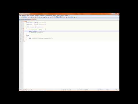 Login & SQL Injection 3 - login.php