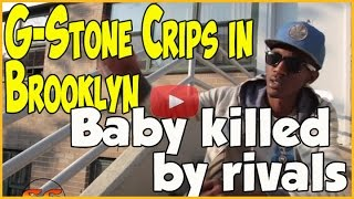 Loccie Shmula from G-Stone Crips lost his son in gang shooting in Brooklyn, New York