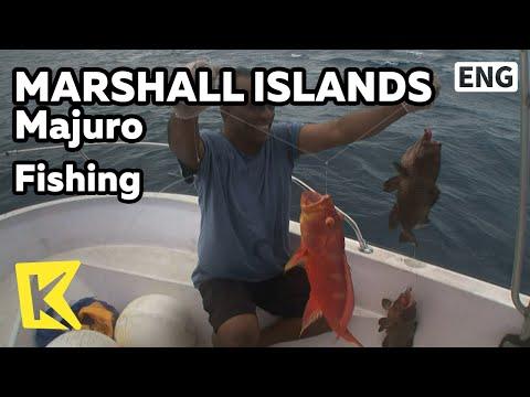 【K】Marshall Islands Travel-Majuro[마셜 여행-마주로]남태평양 그루퍼 낚시와 생선회/Fishing/Raw Fish/Boat
