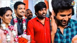 Full Video: Sathish & Sindhu's Romantic Wedding | Sivakathikeyan, Vijay Sethupathi, Atharva Murali