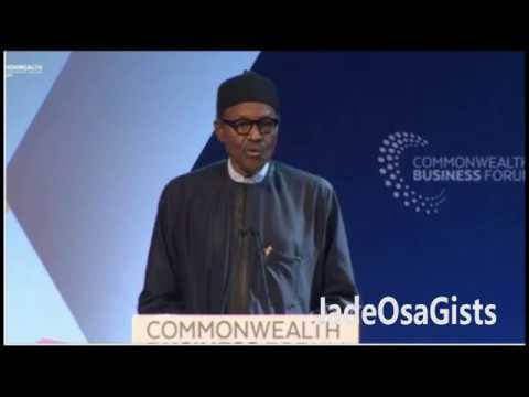 According To Buhari, Nigerian Youths Are Lazy And Waiting Around For Govt Handout...
