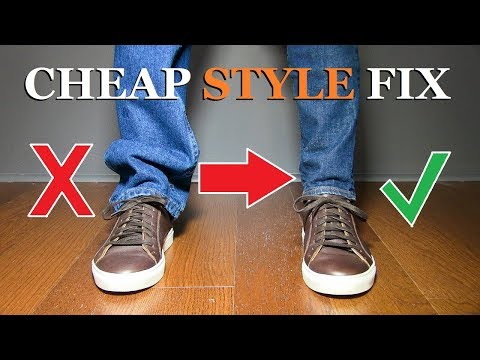10 CHEAP Ways ANY Guy Can Look MORE Stylish!