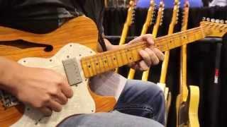 Summer NAMM 2014 Whitfill Custom Guitars