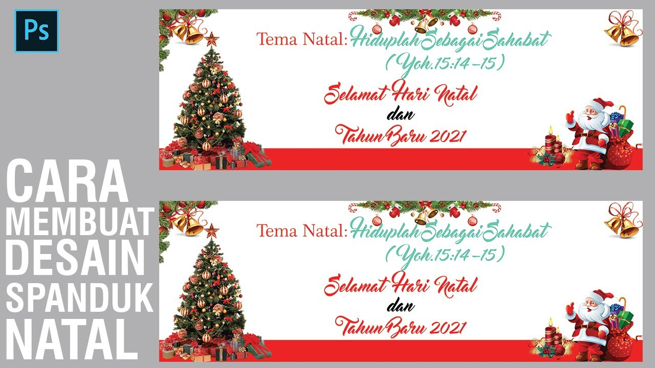 Cara Membuat Kartu Natal Dengan Photoshop / San Insoft ...