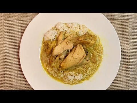 poulet-au-curry-facile