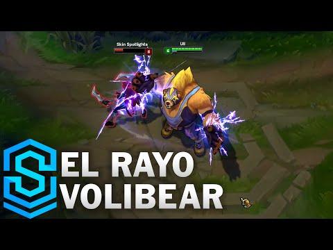 El Rayo Volibear Skin Spotlight - League of Legends