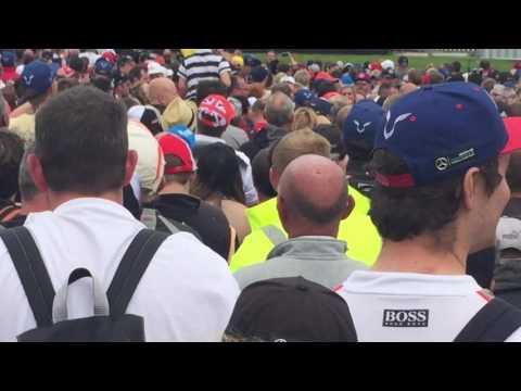 Silverstone F1 Fanzone featuring Lewis Hamilton, Eddie Jordan and David Coulthard - 9/7/2016