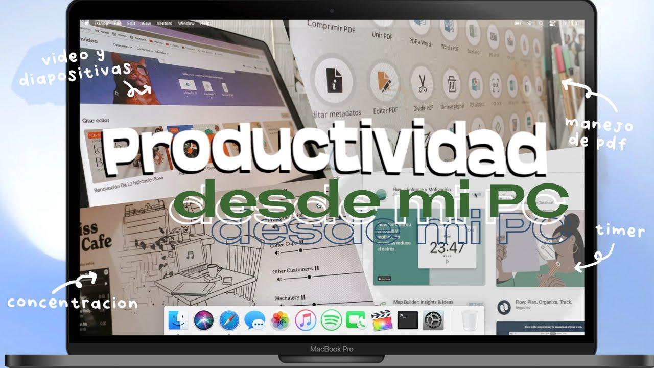 6 páginas web/apps para PC que me ayudan a ser más productiva | universidad 💻