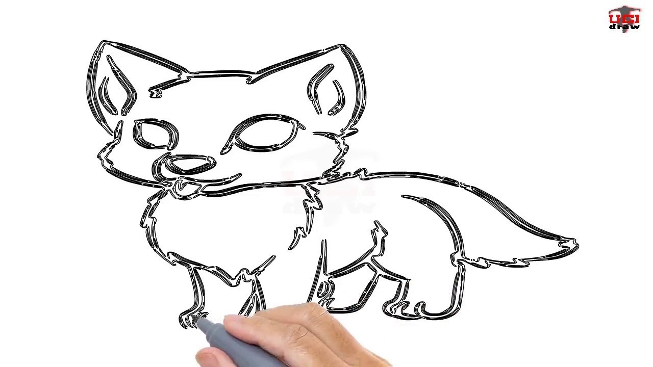 Uncategorized Wolf Pup Drawing how to draw a wolf pup easy step by drawing tutorials for kids ucidraw