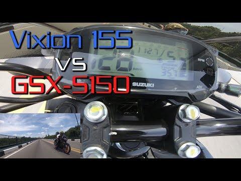 GSX-S150 Vs Vixion 155 VVA - Trùm Naked Bike 150cc?   MinC Motovlog