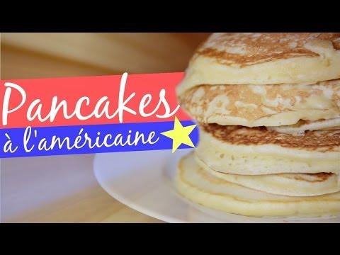 recette-•-pancakes-à-l'américaine-!