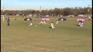 us youth soccer novice coach u6 u8 freeze tag
