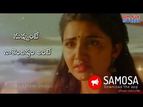 Telugu Love Whatsapp Status 10 Youtube