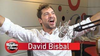 Entrevista con David Bisbal en Radio Disney