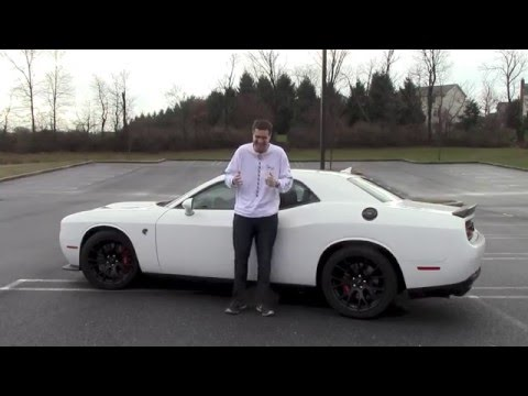 I Drove the Dodge Challenger Hellcat (And I Almost Crashed It)