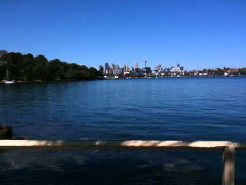 Woolwich Ferry Wharf views of Sydney harbour, Australia