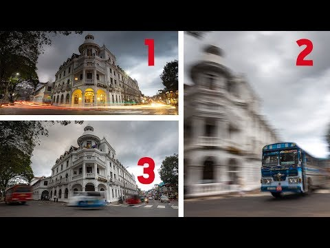 3 Types of Long Exposure Photography. 1 Location.