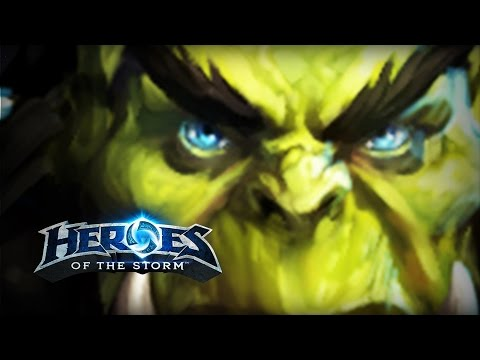 ♥ Heroes of the Storm (A-Z Gameplay) Thrall (HoTs Quick Match)