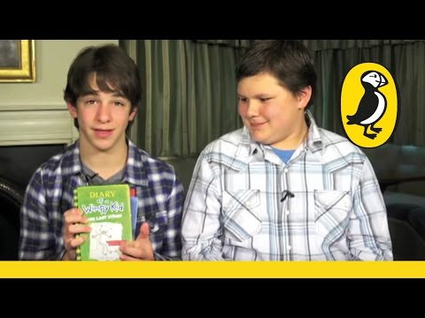 Zachary Gordon & Robert Capron duce the Diary of a Wimpy Kid books