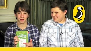 Zachary Gordon & Robert Capron introduce the Diary of a Wimpy Kid books