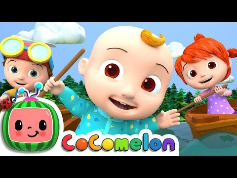 Thumbnail: Row Row Row Your Boat | Nursery Rhymes & Kids Songs - ABCkidTV