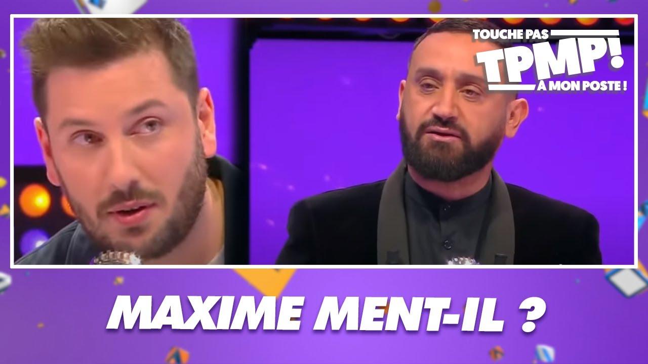 Maxime Guény est-il vraiment en couple ? Le chroniqueur passe au détecteur de mensonges