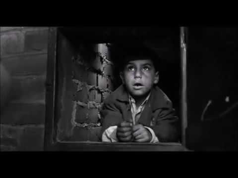Schindlers List - Small boy finds hiding place in pit toilet