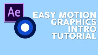 How To Make A Motion Graphics Intro EASY [After Effects CS6 & CC]
