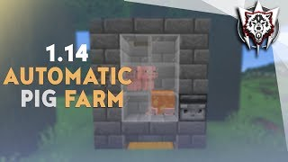1. 14 Automatic Compact Pig Farm - Minecraft 1.14 Tutorial